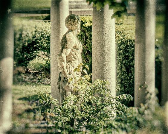 Garden, WInfield Hall, Glen Cove