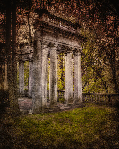 Remains of Meudon, Lattingtown, Glen Cove, Suffolk County, Long Island, New York