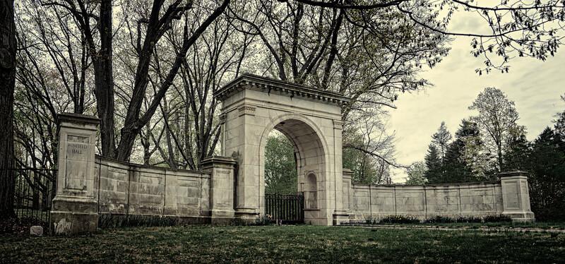 Gates, WInfield Hall, Glen Cove