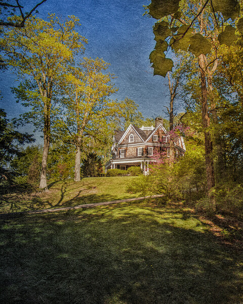 The Wetherhill House, Stanford White, Architect, Head of the Harbor, Suffolk County, Long Island, New York