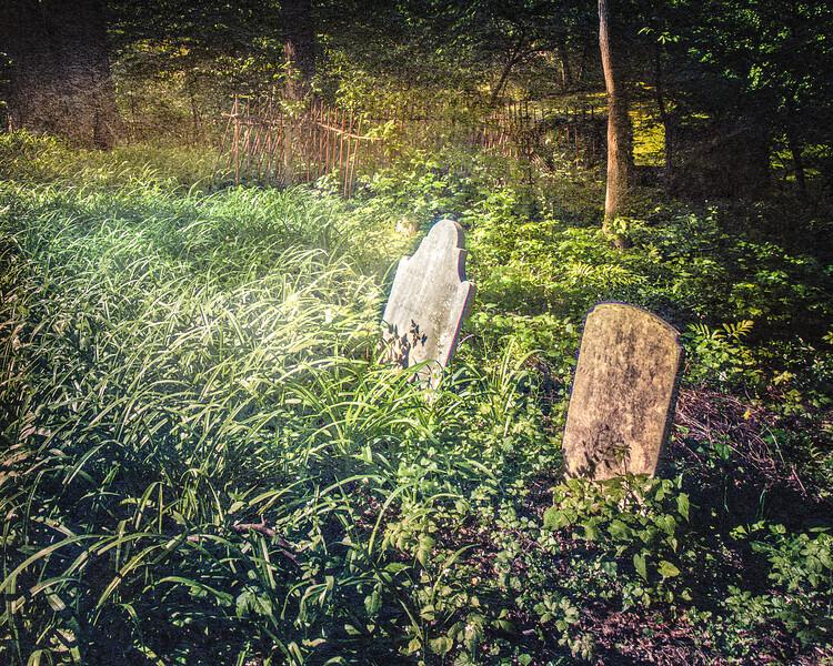 The Graveyard of Gersham Smith and Joseph Smith II, Head of the Harbor, Suffolk County, Long Island, New York