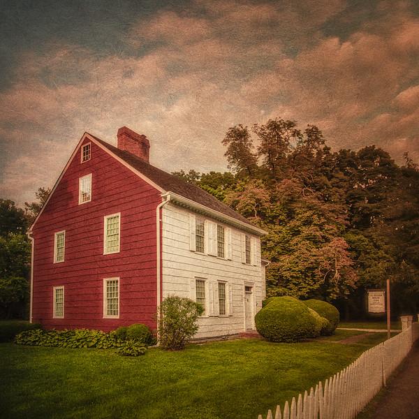 Kissam House,  c. 1795, Village Commons, Huntington Village, Sufolk County, New York