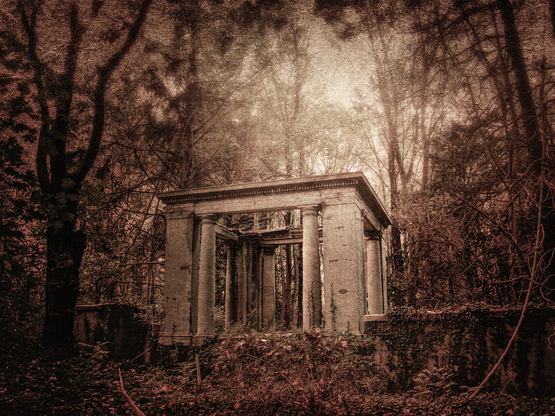 Greek Sham, Muttontown Preserve, East Norwich, Town of Oyster Bay, Nassau County, Long Island, New York