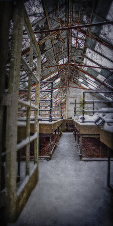 Chelsea Manor Greenhouse, Muttontown Preserve, East Norwich, Town of Oyster Bay, Nassau County, New York