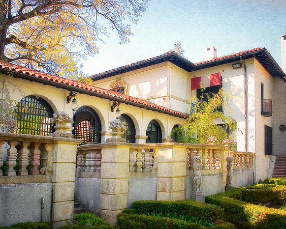 Gold Coast Architecture: The Eagle's Nest, Long Island Home of William K. Vanderbilt, Centerport, Suffolk County, NY
