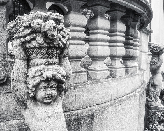 Gold Coast Architecture: Baby Bacchus, The Eagle's Nest, Long Island Home of William K. Vanderbilt, Centerport, Suffolk County, NY