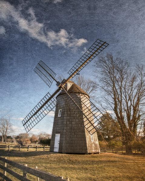 Gardiner Windmill, c. 1804, Village of East Hampton, Suffolk County, South Fork of Long Island, New York