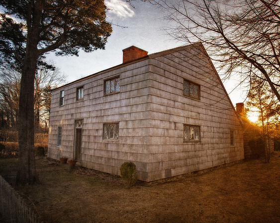Thomas Halsey Homestead, c. 1680, Village of Southampton, Suffolk County, South Fork of Long Island, New York