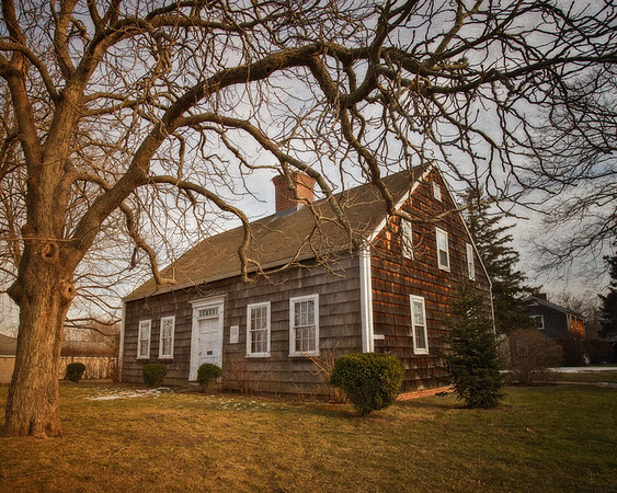 Thomas Moore House, c. 1750, Southold, Suffolk County, North Fork of Long Island, New York