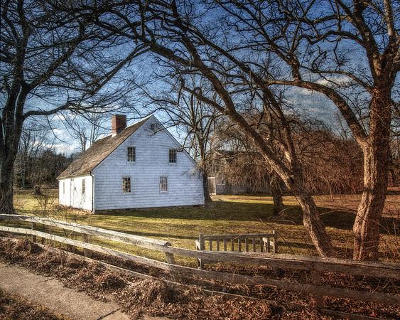 Miss Amelia's Cottage Museum, c. 1725, Amagansett, Village of East Hampton, Suffolk County, Long Island, New York