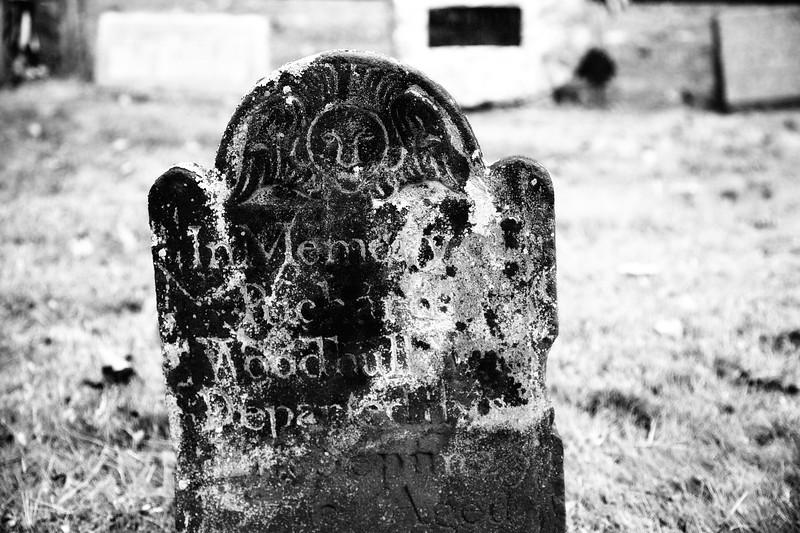 Winged Effigy, Tombstone, Caroline Church of Brookhaven, East Setauket, Suffolk County, Long Island, New York