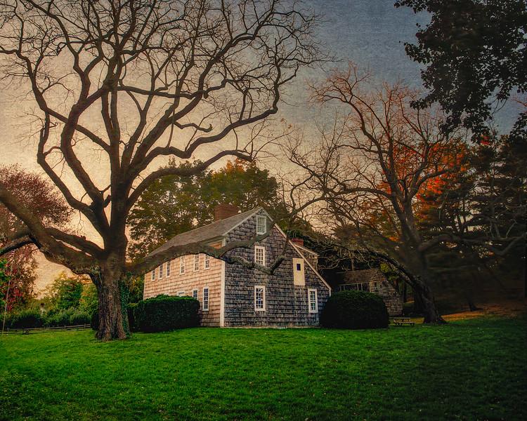 Sherwood Jayne House, c. 1730, East Setauket, Suffolk County, Long Island, New York