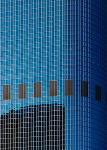 LA Reflections - Sky Blue Sky