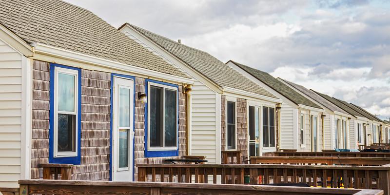 Cape Cod Landscapes: Beach Cottages, Provincetown, Barnstable County, Cape Cod, Massachusetts