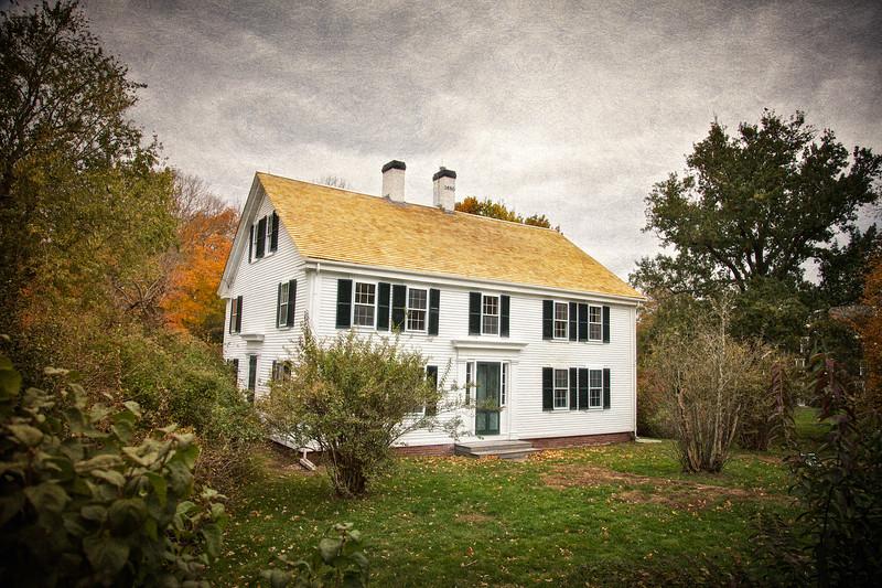 Cape Cod Architecture: Cape Cod Home,Yarmouth Port, Barnstable County, Cape Cod, Massachusetts