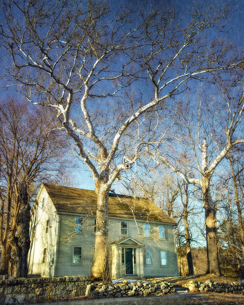 Salem Witch Hunt Locations: Ingersoll's Ordinary, c. 1670. Danvers (formerly Salem Village), Essex County, Massachusetts