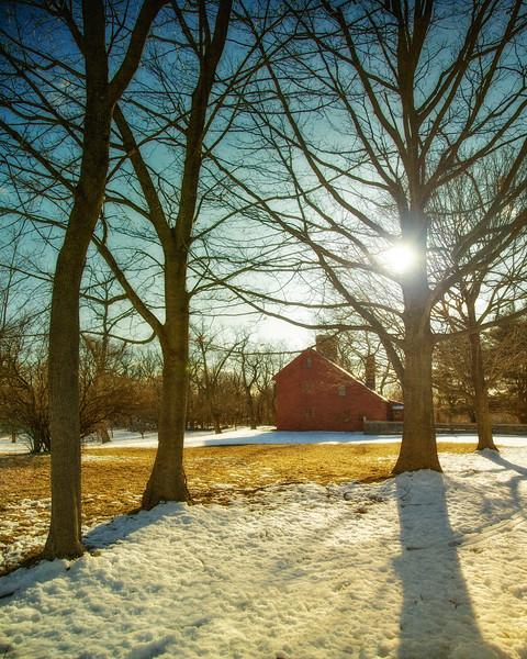 Salem Witch Hunt Locations: The Rebecca Nurse Homestead. Danvers, Formerly Salem Village, Essex County, Massachusetts