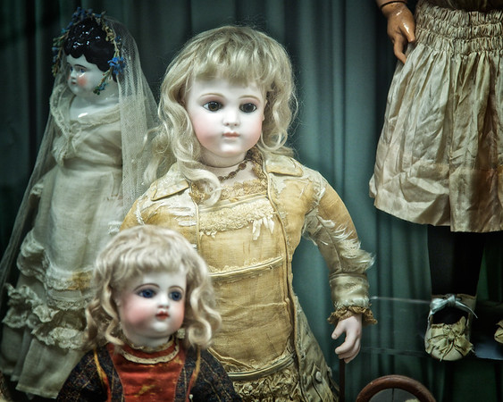 Dolls from the Collection at the Wenham Museum, Wenham, Essex County, Massachusetts