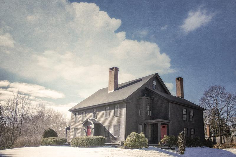 First Period Architecture, Wenham, Essex County, Massachusetts