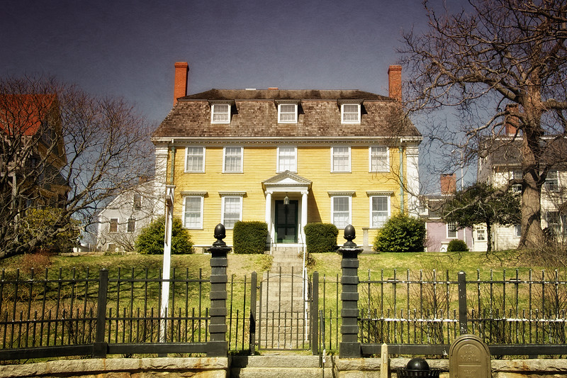 Colonial Era Architecture: Sargent House Museum, circa 1782, Gloucester, Cape Ann, Wessex County, Massachusetts
