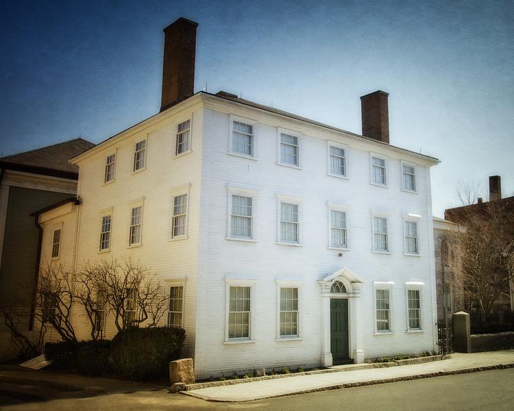 Nineteenth Century Architecture: Captain Elias Davis House, circa 1804, Gloucester, Cape Ann, Wessex County, Massachusetts