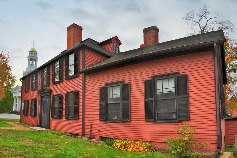 Colonial Era Architecture: Wright Tavern, c. 1747, Concord, Middlesex County, Massachusetts