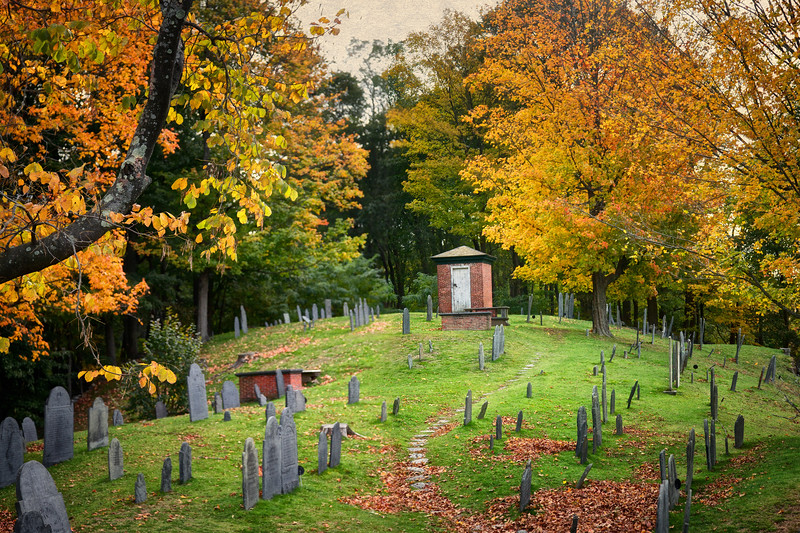 Old Burial Ground Hill and Magazine, Concord, Middlesex County, Massachusetts