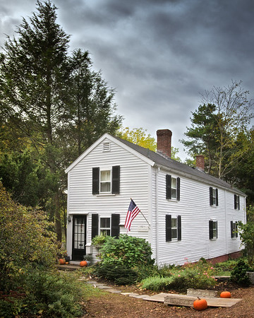 New England Architecture: Coan Coachman House. Concord, Middlesex County, Massachusetts