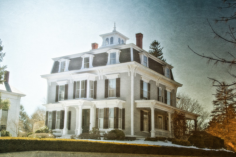 19th Century Architecture: The Centennial House 1876, Newbury, Essex County, Massachusetts