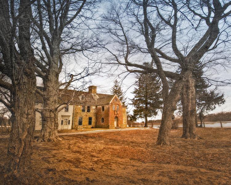 Colonial Era Architecture: Spencer-Peirce-Little Farm Manor House, 1690. Newbury, Essex County, Massachusetts