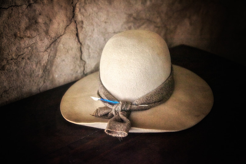Life in Plymouth Colony: Woman's Hat, 1627 English Village, Plimoth Plantation, Plymouth, Massachusetts