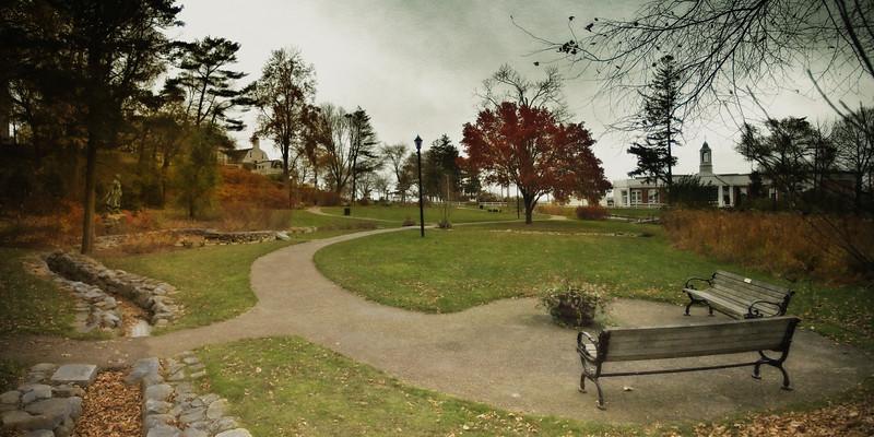 New England Landmarks: Brewster Gardens, Plymouth, Massachusetts