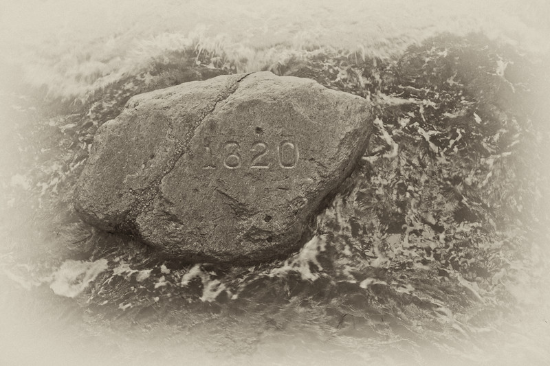 New England Landmarks: Plymouth Rock, Plymouth, Massachusetts