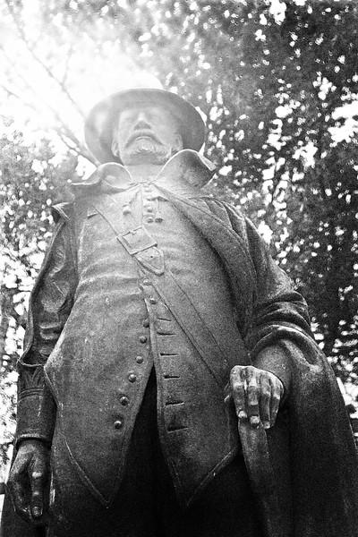 New England Landmarks: Governor William Bradford, Plymouth, Massachusetts