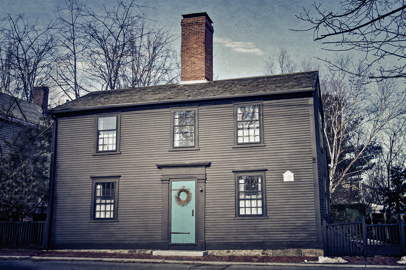 Colonial Era Architecture: Built by Penn Townsand, Mariner, 1771, Salem, Essex County, Massachusetts