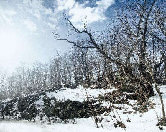 Salem Witch Hunts: Proctor's Ledge. Salem, Essex County, Massachusetts