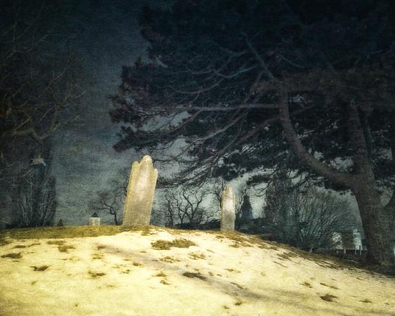Salem Landmarks: Howard Street Burial Ground, Salem, Essex County, Massachusetts