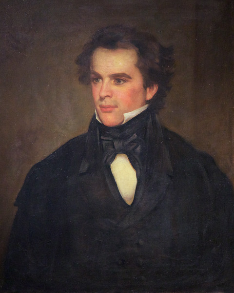 Portrait of Nathaniel Hawthorne at The House of Seven Gables, , Turner-Ingersoll Mansion, Salem, Essex County, Massachusetts