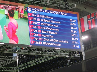 Simone and Aly win the gold and silver!