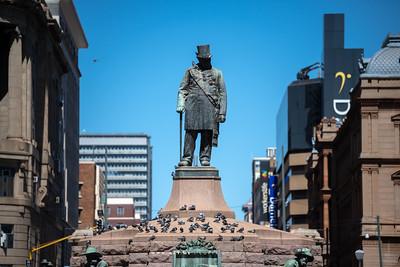 Paul Kruger Statue, Church Square
