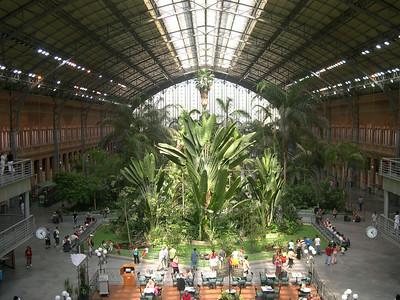 Estación de Atocha, built in 1851, is Madrid's main train station