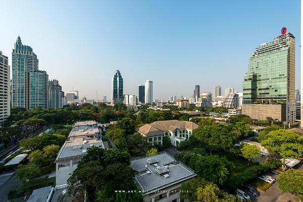 Bangkok view from Central Embassy