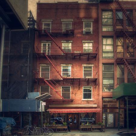 47 Bond Street, home of Il Buco Restaurant.