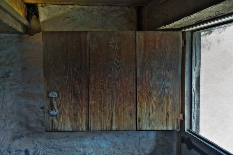 Colonial Era Daily Life: Open Dutch Door. Philipsburg Manor, Sleepy Hollow, North Tarrytown, Westchester County, New York