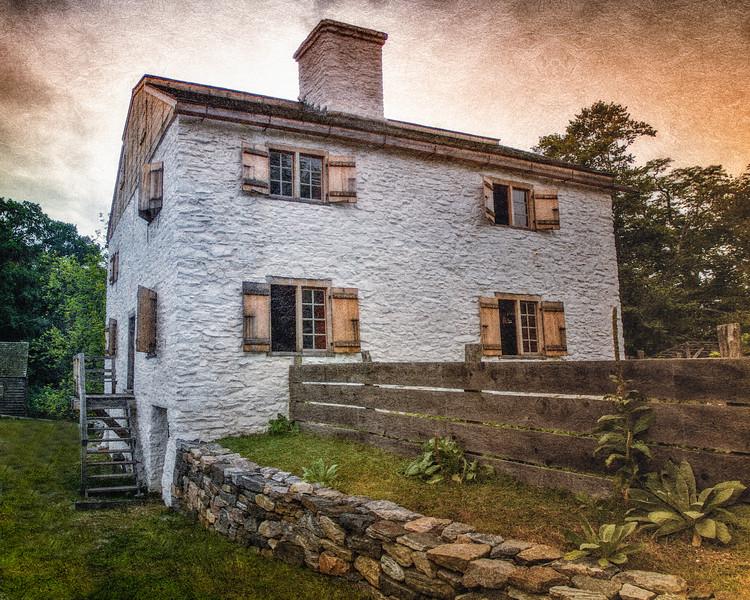 Manor House. Philipsburg Manor, Sleepy Hollow, North Tarrytown, Westchester County, New York