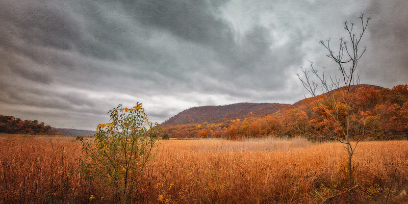 Hudson River Valley Landscapes: View from Iona Island, near Stony Point, New York