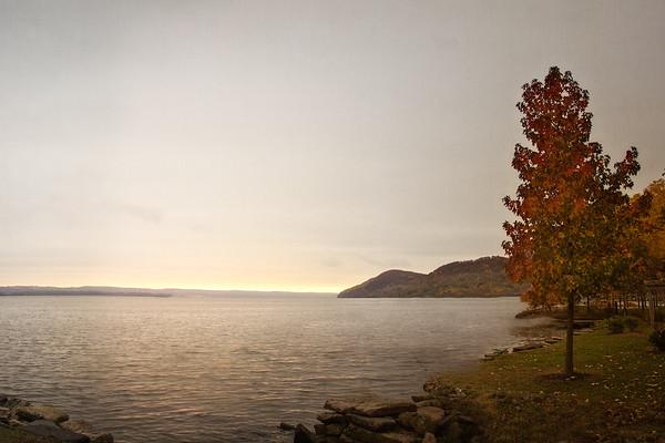 Hudson River Valley Landscapes: Sunrise at Emeline Park, Haverstraw, Rockland County, New York