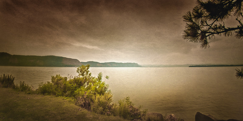 Hudson River Valley Landscapes: View from Rockland County, New York