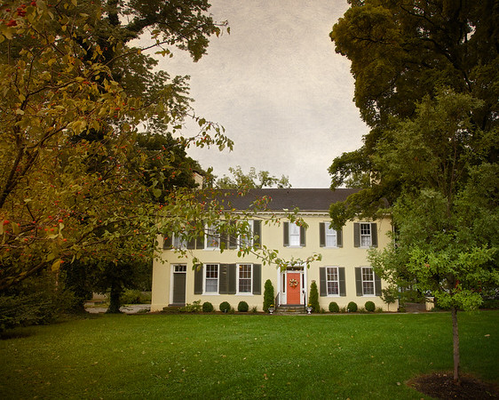 Colonial Era Architecture: The Harrison-Smith House, c. 1795 and 1815, Bardstown, Nelson County, Kentucky