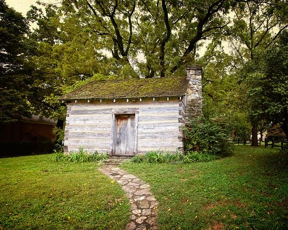 19th Century Schoolhouses: Log School House, Bardstown, Nelson County, Kentucky